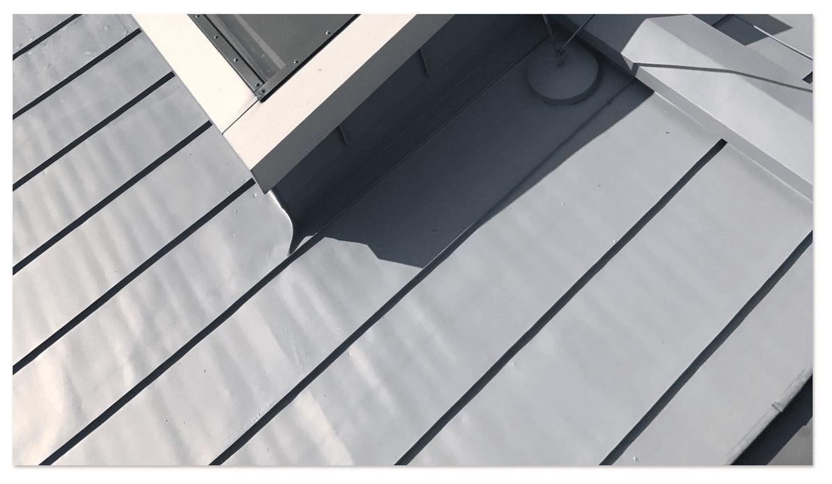 Blechdachsanierung aus  Carlsberg