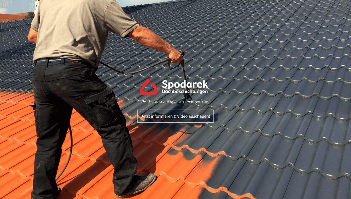 Dachbeschichtung in Bösingen - 🥇 SPODAREK: Dachreinigungen, Dachsanierung, Dachdecker Alternative