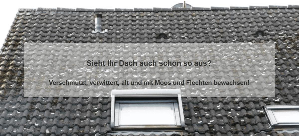 Dachprobleme : Schäden an der Oberfläche, Ziegel, Dachsteine
