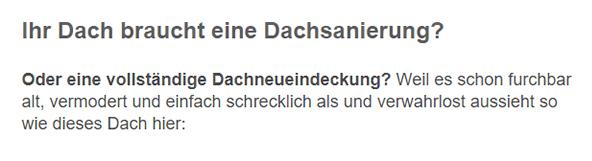 Dachsanierungen für 71332 Waiblingen, Fellbach, Korb, Remseck (Neckar), Winnenden, Remshalden, Leutenbach oder Schwaikheim, Weinstadt, Kernen (Remstal)