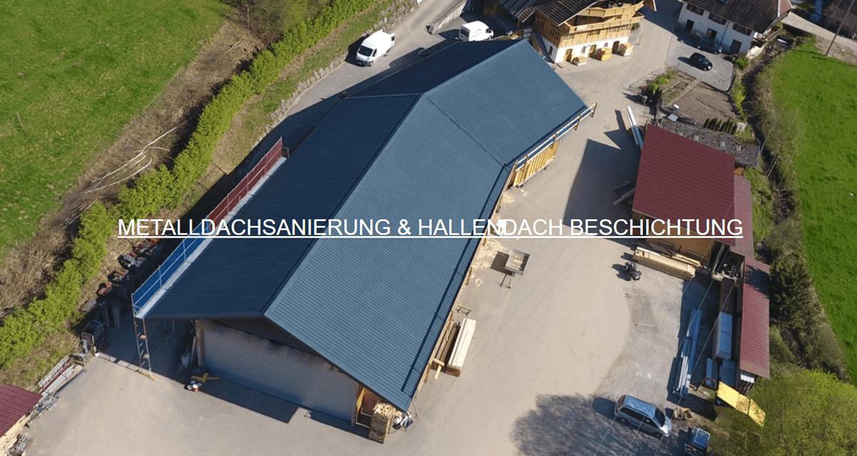 Metalldachbeschichtung in Katzweiler - 🥇 Spodarek Dachbeschichtungen: Blechdach Beschichtung, Hallendach Sanierung, Metalldachsanierung