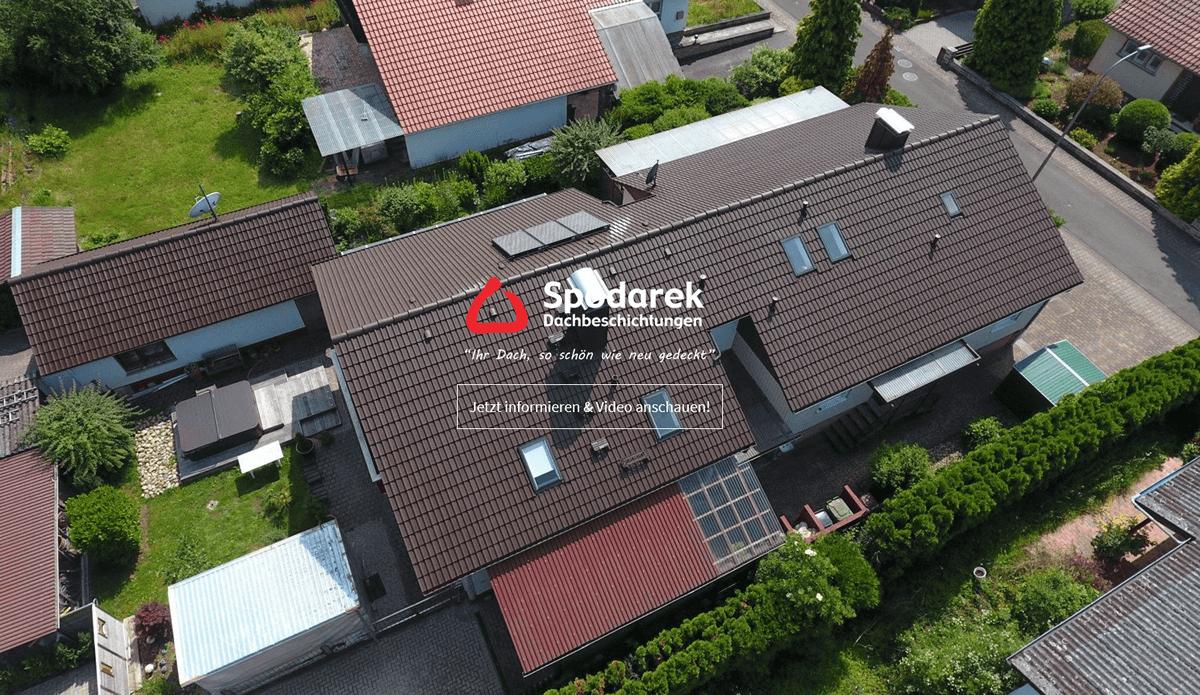 Dachsanierung Wiesbaden - 🥇 Spodarek Dachbeschichtungen: Dachimprägnierung, Dachreinigung, Dachrenovierung